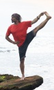 Asana Yoga Shorts - Smoke Stripes - 2