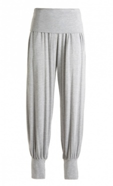 Yoga Harem Pants - Grey Melange