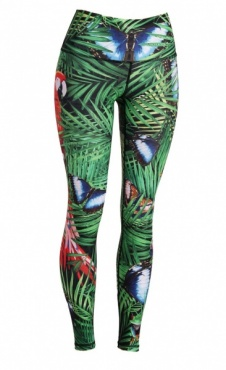 Yoga Leggings Tropical Escape