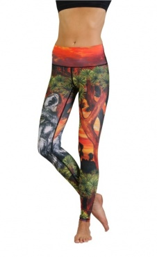 Yoga Leggings Lobo