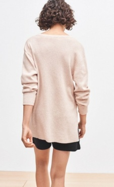 Filippa K Knit Sweater - Powder Marl