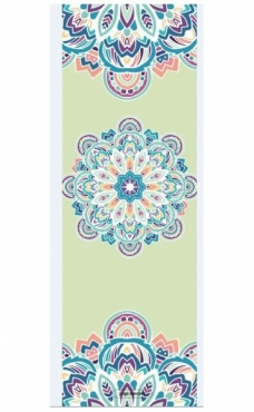 Combo Yoga Mat Mandala