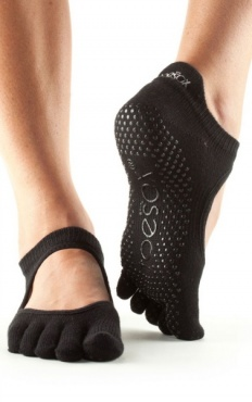 Toesox Bellarina Full Toe - Black