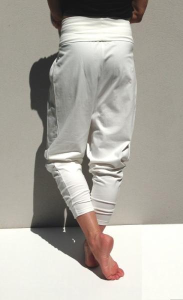 Kyko Yoga Pants - Ivory - 3