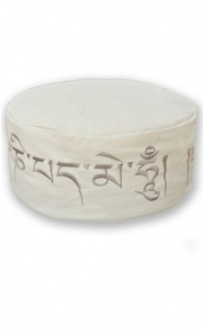 Meditation Cushion Mantra ECO - Ecru