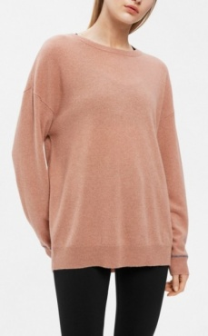 Filippa K Cahsmere Sweater Blush Melange