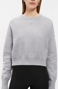 Filippa K Double Knit Cotton-Cashmere Sweater