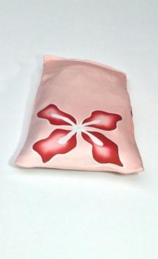 Oogkussen Red Flower