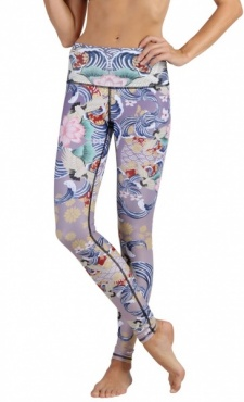 Zen Water Garden Yoga Leggings