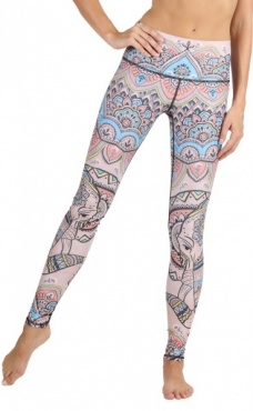 Mystic Elephant Yoga Leggings