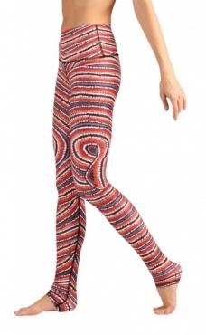 Snake X Printed Yoga Legging