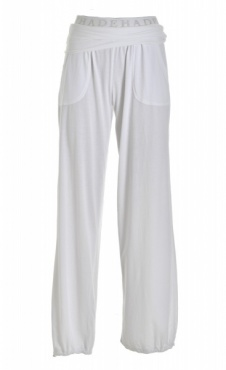 Roll-On Waist Pants White