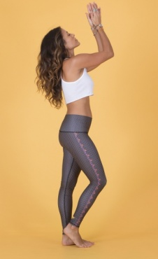 tEEKI Polka Dot Cowgirl Legging - Black