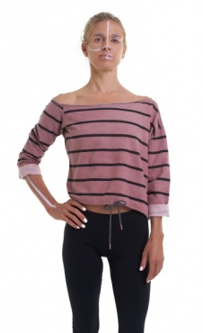 New Prana Cropped Sweatshirt