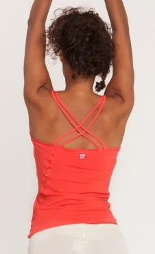 35mm Yoga top - Coral