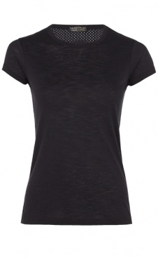 Cap Sleeve Tee - Black