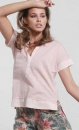 Button Tee - Blush - 2