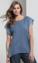 Trapeze Tee - Jeansblue - 2