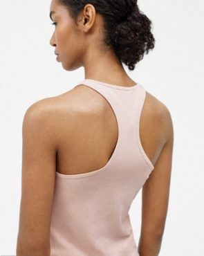 Filippa K Athletic Cotton Tank - Pale Pink