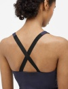 Filippa K Control Cross-back Top - Liquorice - 2