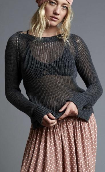 Fauve Sweater - Nero