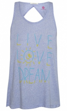 Live Love Dream Top - Heather
