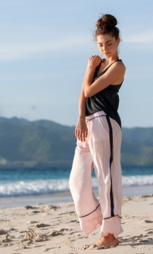 Summer Marching Pants - Rose Quartz