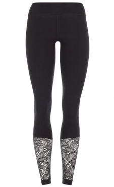 Lace Leggings - Black