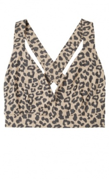 10Days Sporty Bra Leopard - Sand