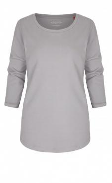 3/4 Sleeve  Tee - Pearl Grey