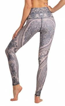 Henna My Heart Yoga Leggings