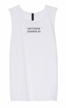 10Days Long Sleeveless Top - White