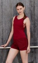 Side Strap Tank - Rumba Red - 2