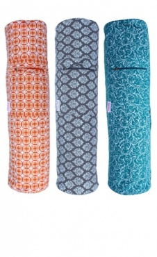 Yoga Mat Bag Full Print - Orange