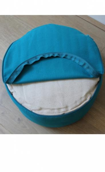 Meditation Pillow Mandala - Azure - 1