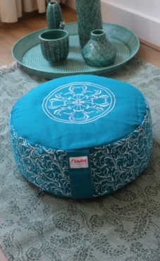 Mandala Meditation Pillow Big