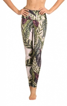 Leaf It To Me Yoga Leggings