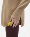 Filippa K 2-tone Split Sweater - Camel - 2