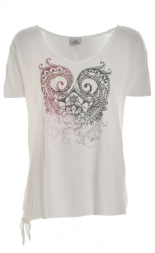Knotted Tee - White