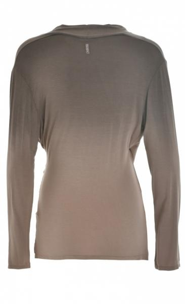 Shaded Longsleeve T - Taupe - 1