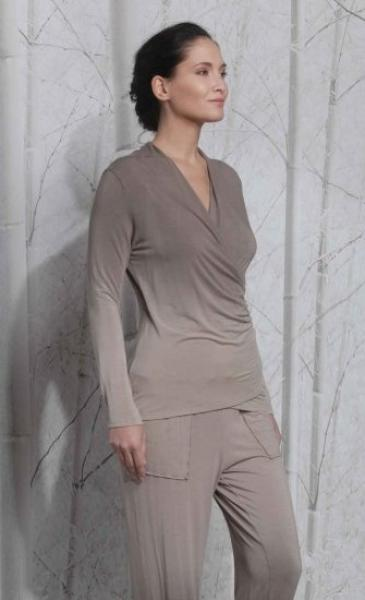 Shaded Longsleeve T - Taupe - 2