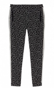 10Days Jogger Leopard Black