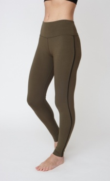 Flow with It Leggings - Khaki