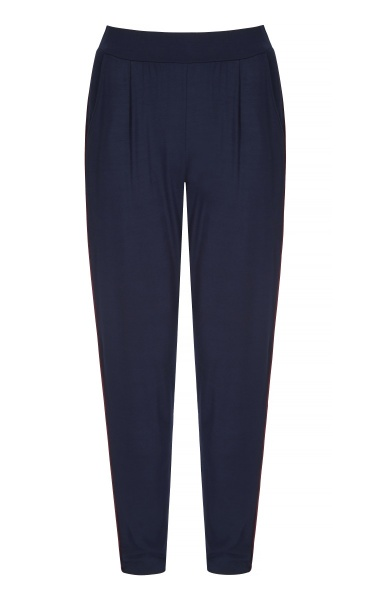 Divine Pants - Navy / Claret