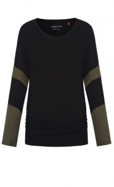 Long Sleeve Bamboo T - Black