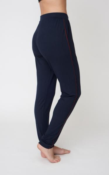 Divine Pants - Navy &Claret Piping - 1