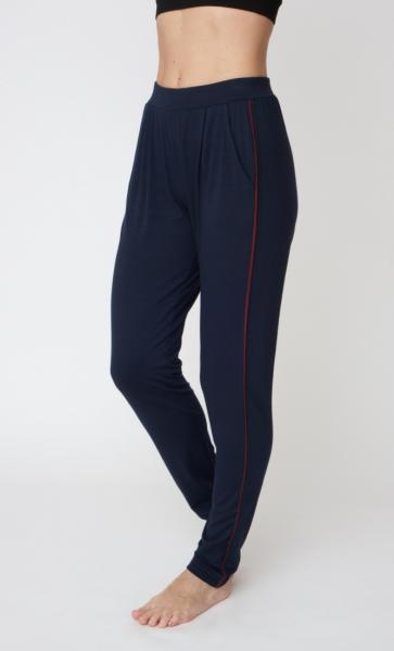 Divine Pants - Navy &Claret Piping - 2