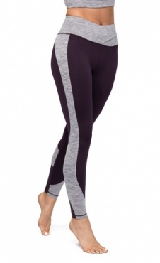 Manduka Wrap Up Legging Deep Plum