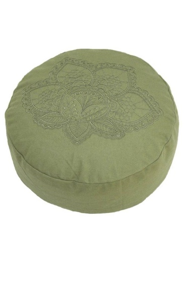 Meditation Cushion Lotus - Olive