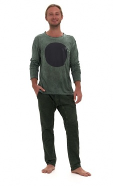 Sky pant - Stone Wash Green